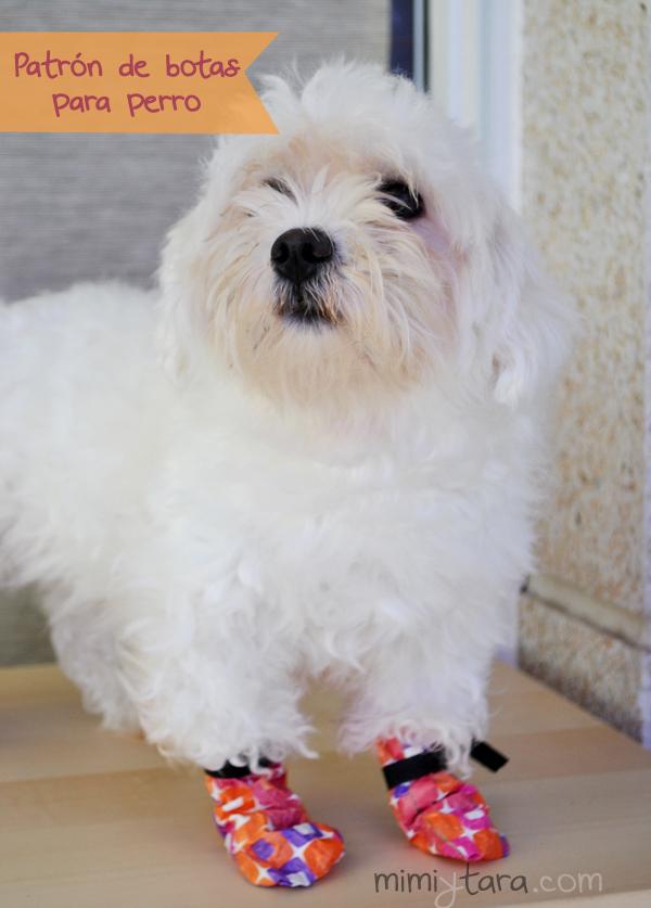Patrón de botas para perro | Mimi y Tara