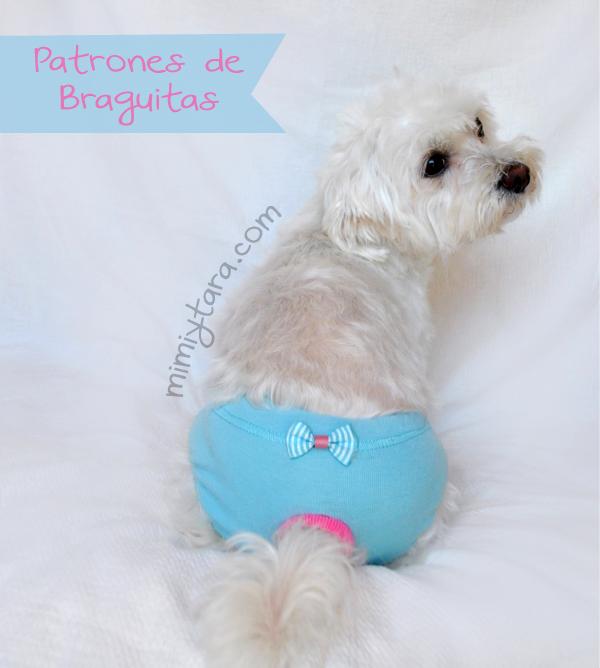 Patrones de braguitas para perro | Mimi y Tara