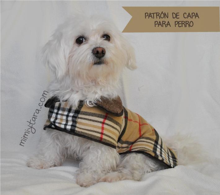 Patrón de capa para perro | Mimi y Tara