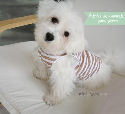 Patrón de camiseta para perro | Mimi y Tara