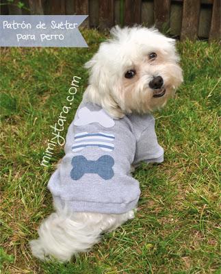 Patrones De Suéter Para Perro Mimi Y Tara